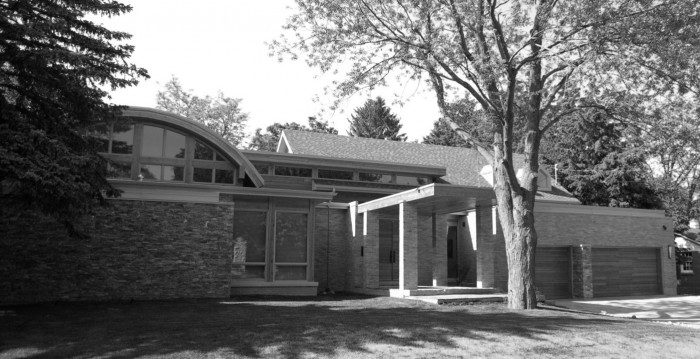 Front Elevation B&W